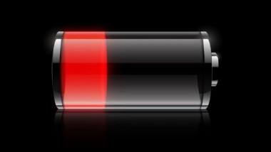 スマホのバッテリー量
