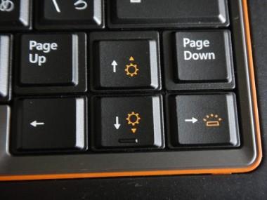 ノートパソコンの明るさ調整