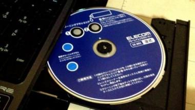 レコーダーのディスク読み取り部分の汚れをチェック