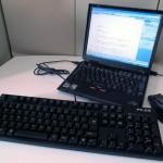 ノートパソコンのキーボードを無効化して外付けキーボードを使う方法