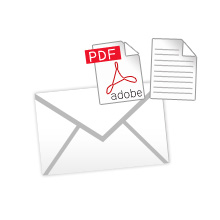 添付メール