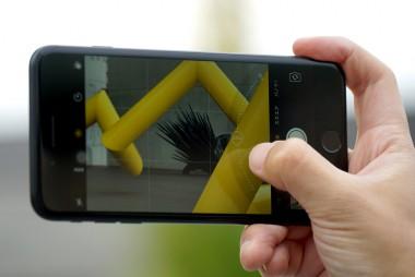 iphoneカメラピント