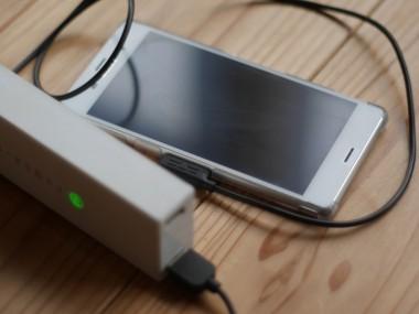 スマホのモバイルバッテリー