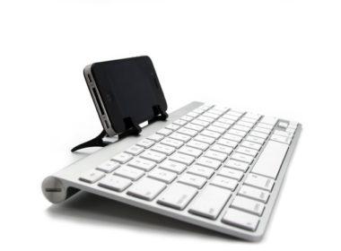 iphoneとワイヤレスキーボード
