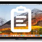 Mac – クリップボードのコピー・貼り付けの使い方【中身を見る・消去も】