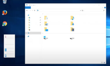 全ての文字が表示されない Windows10