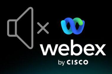 Webex音声が聞こえない