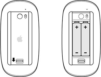 Magic Mouse バッテリー交換