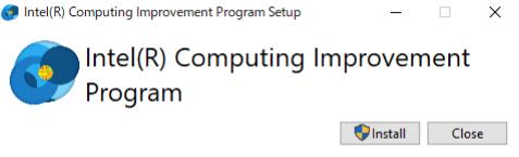 Intel Computing Improvement