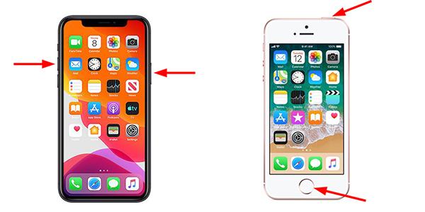 Iphoneスクリーンショットの撮り方