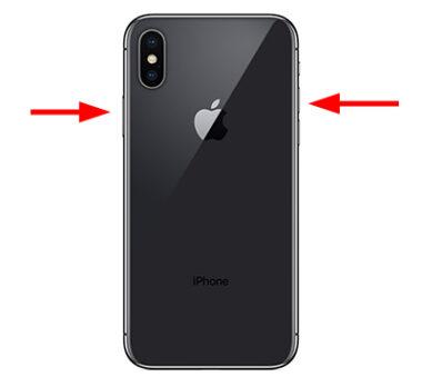 Iphone X以降 電源を切る