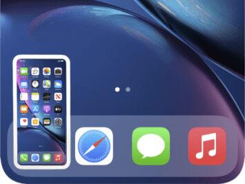 Iphone Ipadでスクリーンショットが撮れない